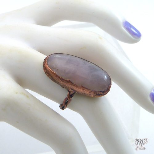 bague rhoda quartz rose