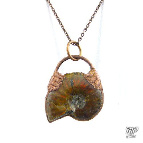 pendentif saldis ammonite