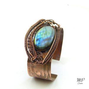 """les bijoux """"trésor des korriganes"""" Bracelet-manchette-scatha-oeil-de-dragon-labradorite-cuivre-artisanal6-300x300"""