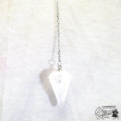 pendule en cristal de roc