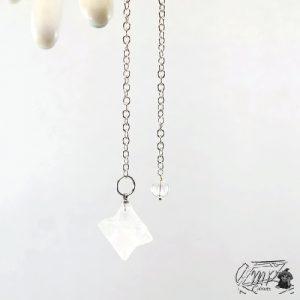 pendule de merkaba en cristal