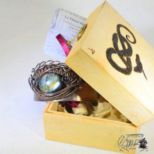 trésor-box ruth avec labradorite