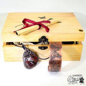 tresor box wivine thème papillon