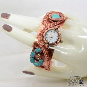 bracelet manchette montre quartz Fregan