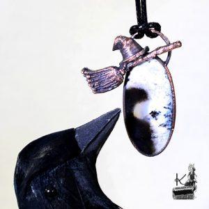 pendentif adèle avec sa merlinite