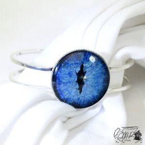 bracelet hirael oeil de dragon bleu
