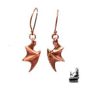 boucles d'oreille en cuivre Rong