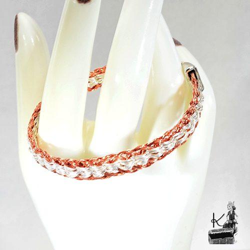 Bracelet Urlo en fils de cuivre tressé