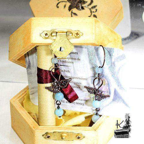petite trésor box florry avec boucles d'oreilles