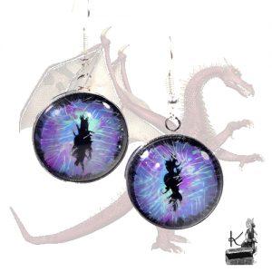 boulces d'oreille zmaj oeil de dragon