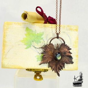 tresor box dionysos - cuivre et labradorite