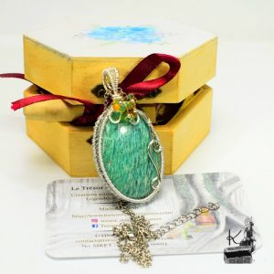Trsor-Box Bluebell - amazonite