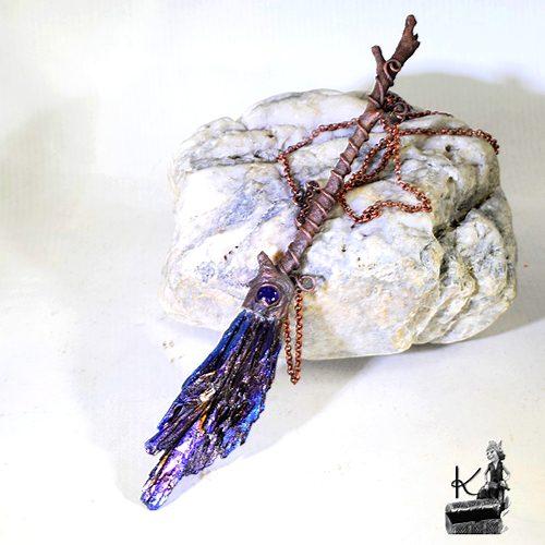 Collier Hazel - balai de sorcière