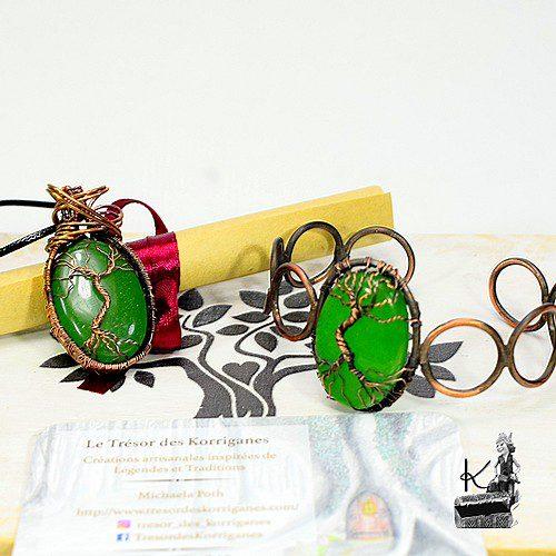 Trésor-Box Siloel - cuivre et jade