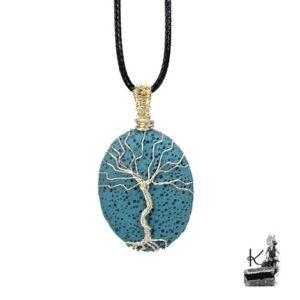 Pendentif arbre de vie aromatherapie ailis
