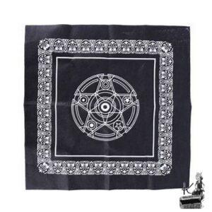 tapis de tarot pentacle
