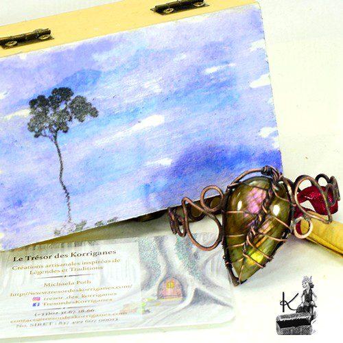 Tresor-Box abey avec bracelet