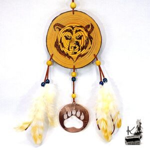 Decoration murale dreamcatcher ours Nita