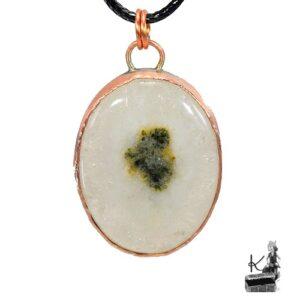 pendentif nellas en quartz solaire