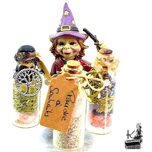 spell jar, bouteille de sorcière- fiole magique