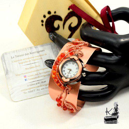tresor box coeur Isolt avec bracelet manchette montre