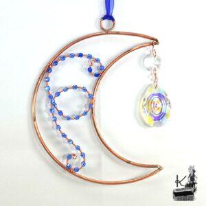 Suncatcher giesi en forme de lune