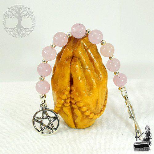 Echelle de sorcière en quartz rose