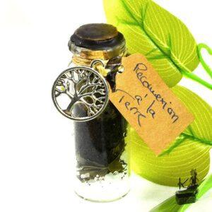 Spell jar pour la reconnexion de la terre