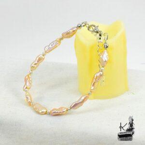 bracelet scota en perles biwa