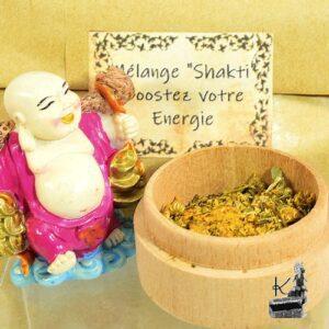 Mélange d'herbes Shakti pour booster votre énergie