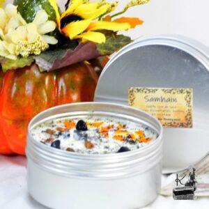 bougie pour Samhain / halloween